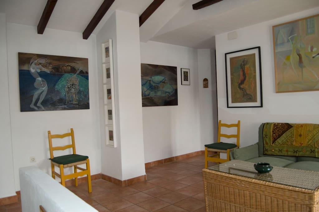 Casa mirador albaida terraza wifi vistas casas en for Terraza la casa de granada madrid