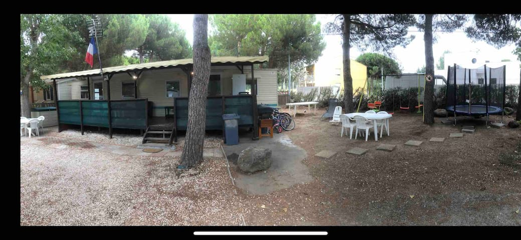 Mobil home camping les sable d or
