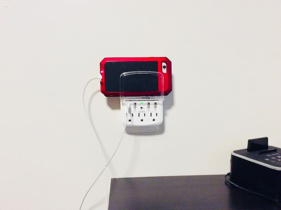 Updated wall charger