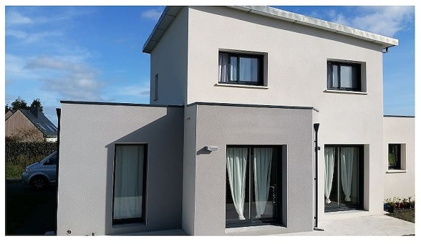 maison neuve contemporaine 100 m2 - Loctudy - บ้าน