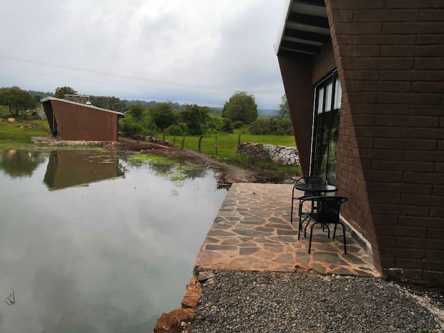 Tejocotes - Cabañas Masala -  con vista al lago