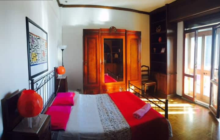 Suite+private external bathroom, beatiful terrace