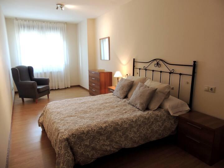 Apartamento amplio y confortable en zona rural