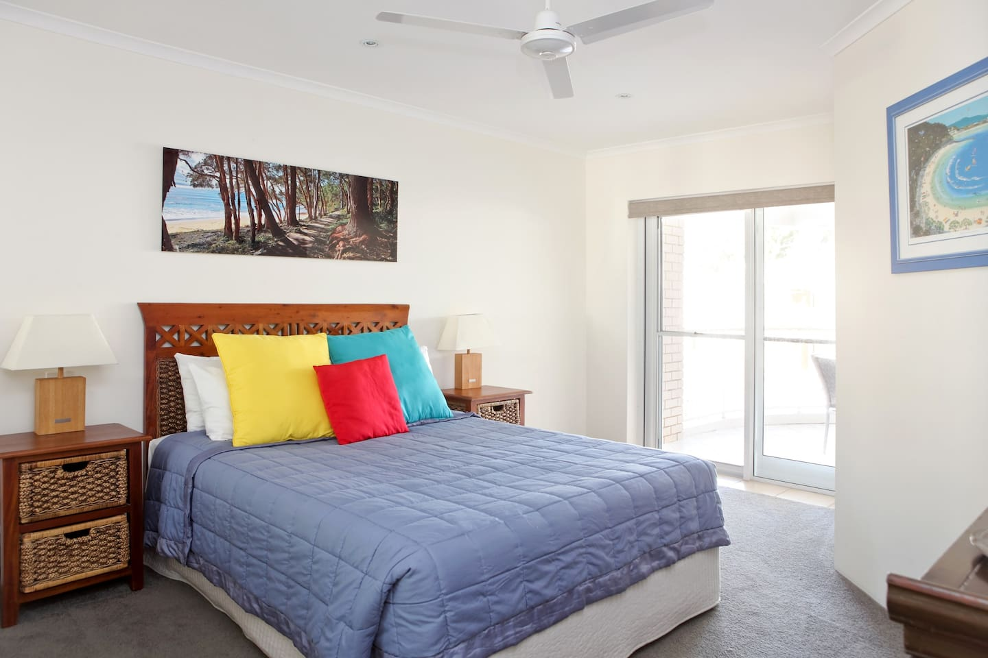 Master Bedroom with private balcony entrance