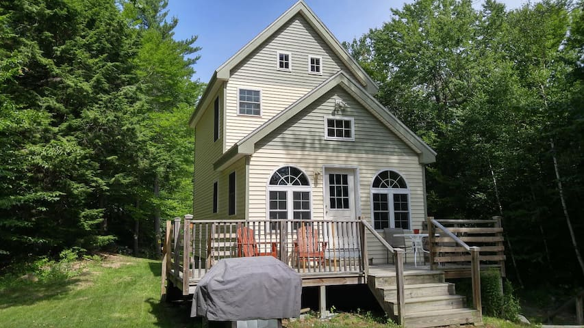 Fresh New Teeny Cottage @ Crystal Clear Beech Pond - Tuftonboro - Huis