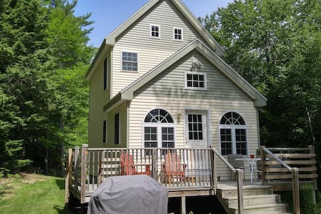 Fresh New Teeny Cottage @ Crystal Clear Beech Pond - Tuftonboro