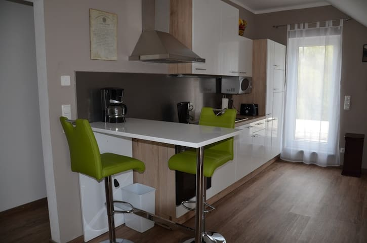 Spacious, cosy 3.5-room apartment - Waal - Apartament