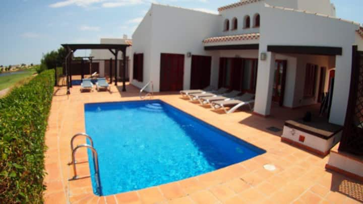 Luxury holiday golf villa El Valle Resort Murcia