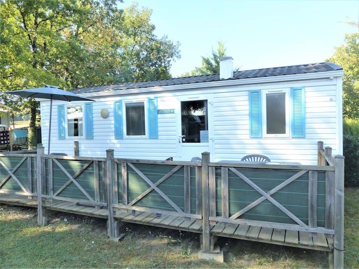 Mobile home confortable au calme 3 chambres