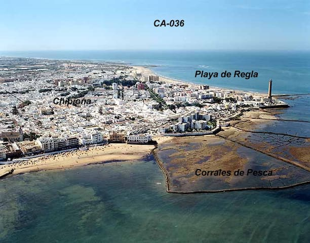 House with own parking and patio, close to beach - Chipiona - Casa