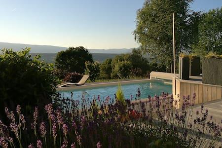 Chambre d'hôtes la Chocolaterie, piscine chauffée