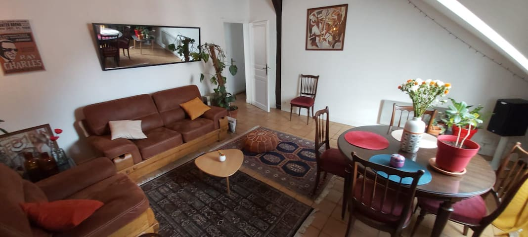 Spacious apartment in Central Paris - private room