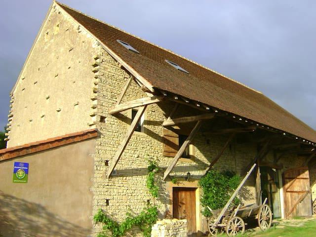Grange du Levry - chambres d'hôtes - Cortevaix - Penzion (B&B)