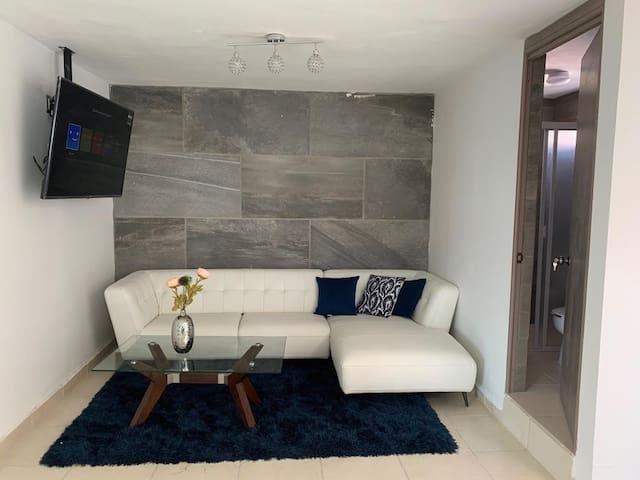 Moderno departamento para pareja