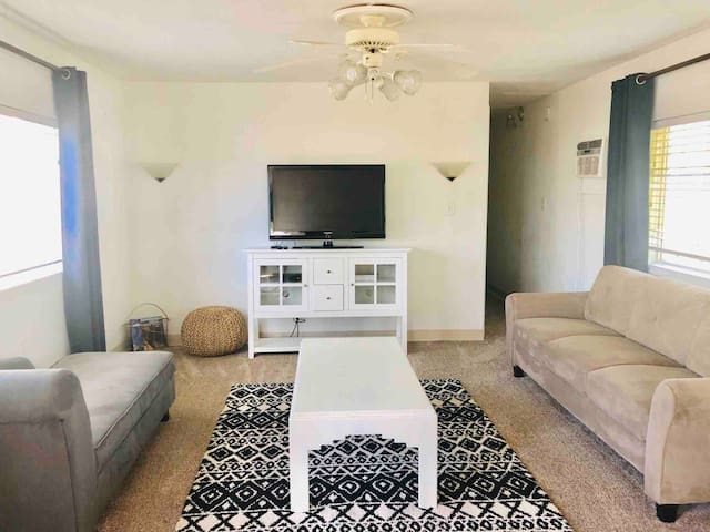 Private 3 Bedroom Trailer Home; Stocked Kitchen