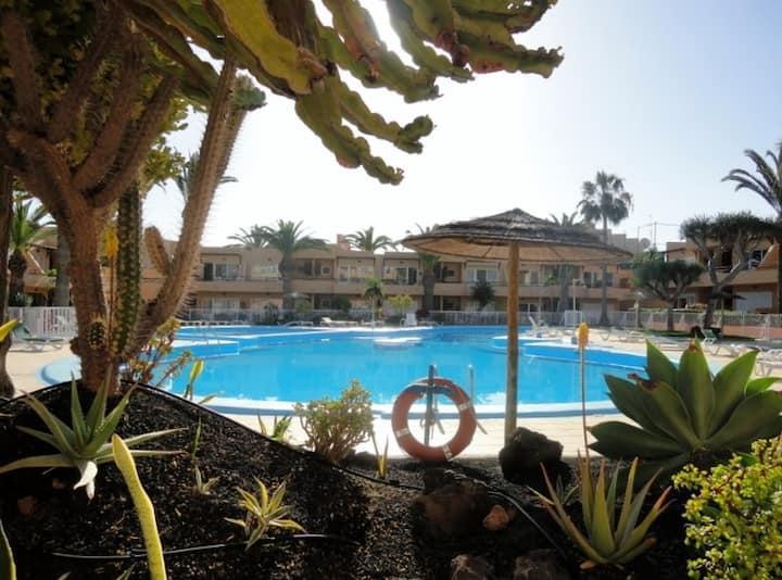 Appartamento LAS PALMAS con giardino piscina wifi