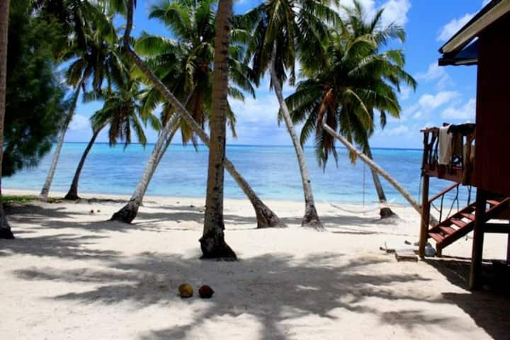 Tangikaara Beach House, Aitutaki, Cook Islands.