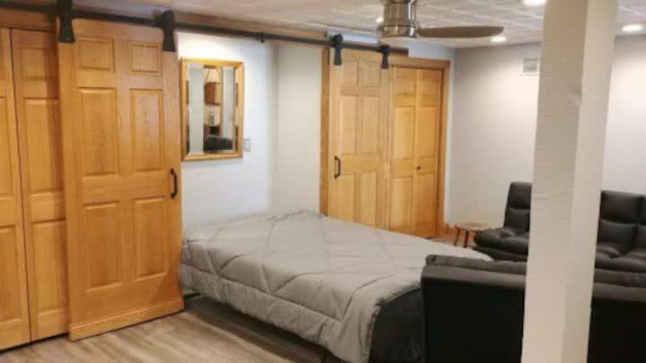 Historic Ice House Studio on Pewaukee Lake