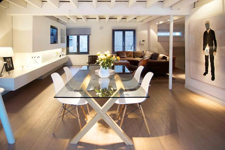 Luxueuse loft in het centrum van Brussel