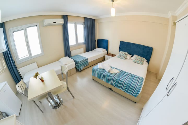 NİCE APARTMENT FOR FAMILY OR  GROUPS IN İZMİR