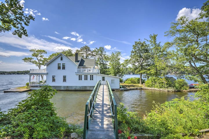 Lakefront Hopatcong House w/ Large Porch & Dock!