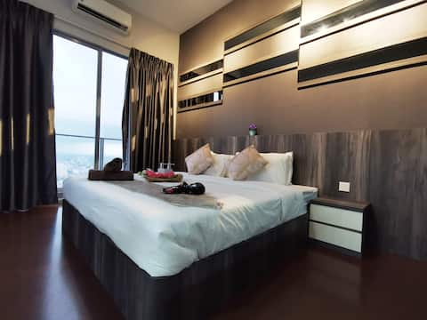 {Highest Floor Seaview} Couple Suites@Melaka Town