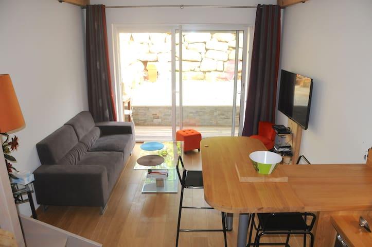 Le TAILLEFER duplex de 70m2 (WIFI) - Saint-Eustache - Apartment