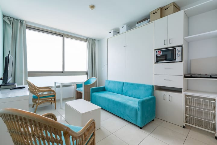 Amazing apartment with full sea view - Netanya - Apartemen
