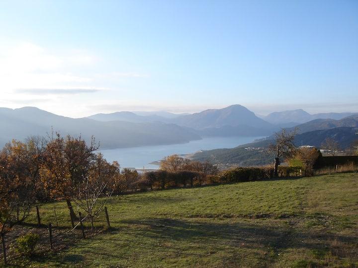 Gite Prunieres,Lac de Serre ponçon, Savines