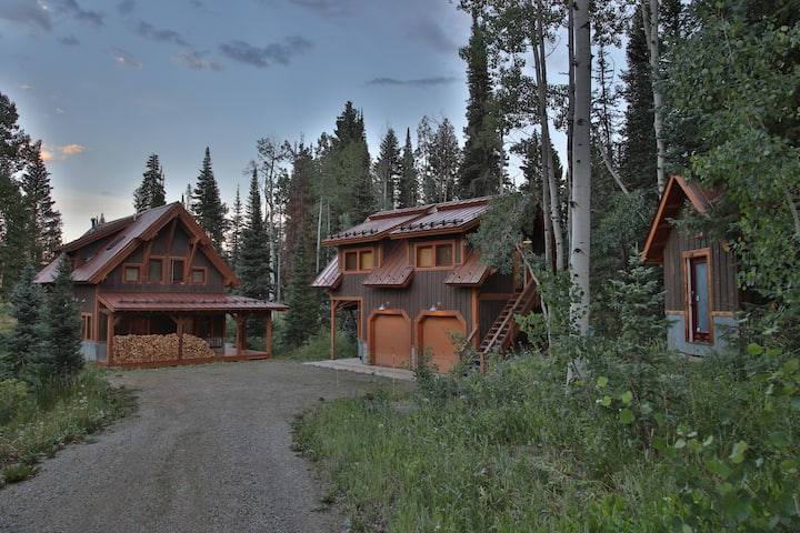 Mountain Stone Cabin
