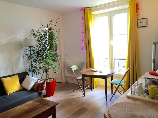 Cosy flat in the heart of Paris - Paris - Apartamento