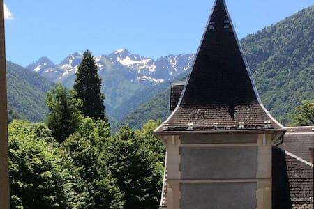 Bel appartement T2 avec balcon et vue sur Pyrénées - Bagnères-de-Luchon - Διαμέρισμα