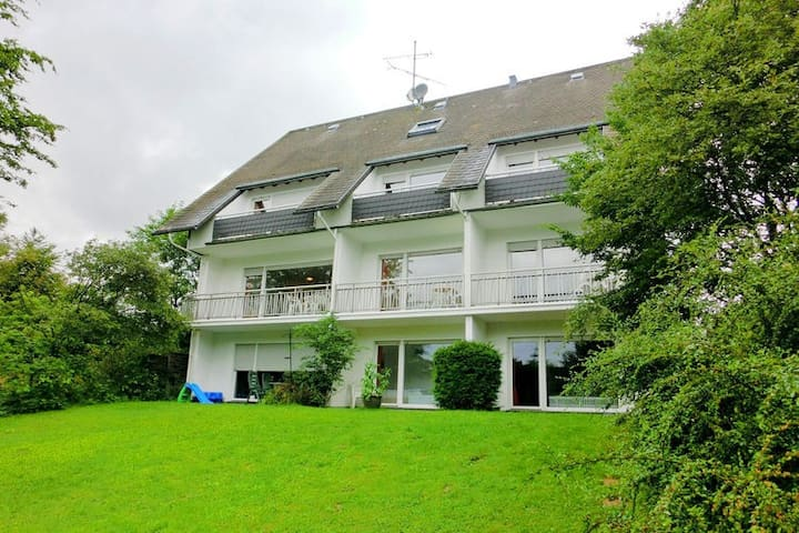 Modern apartment in the Sauerland region with private balcony