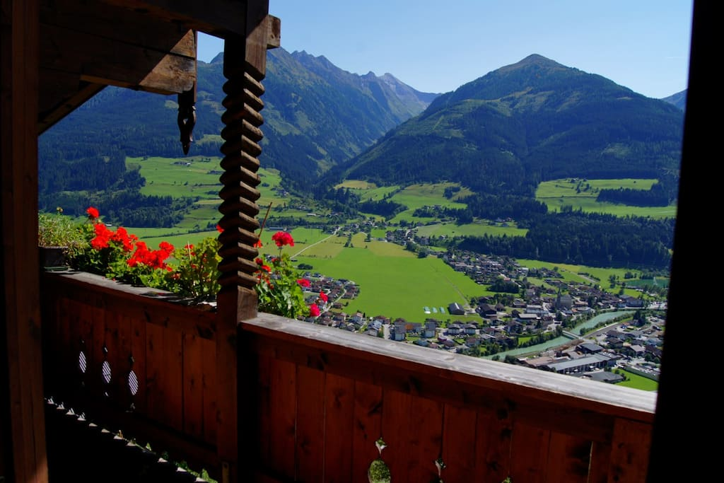 Ausblick vom Balkon /View from the balkony