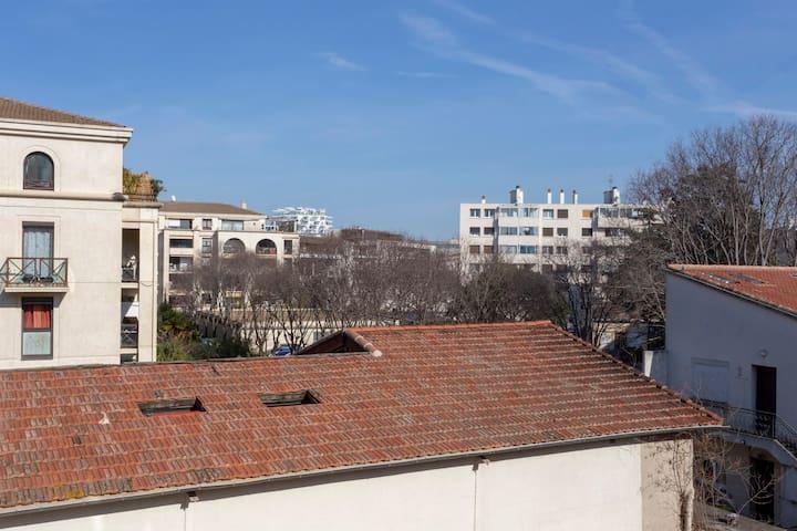 Au bon coin dans le coeur de Montpellier