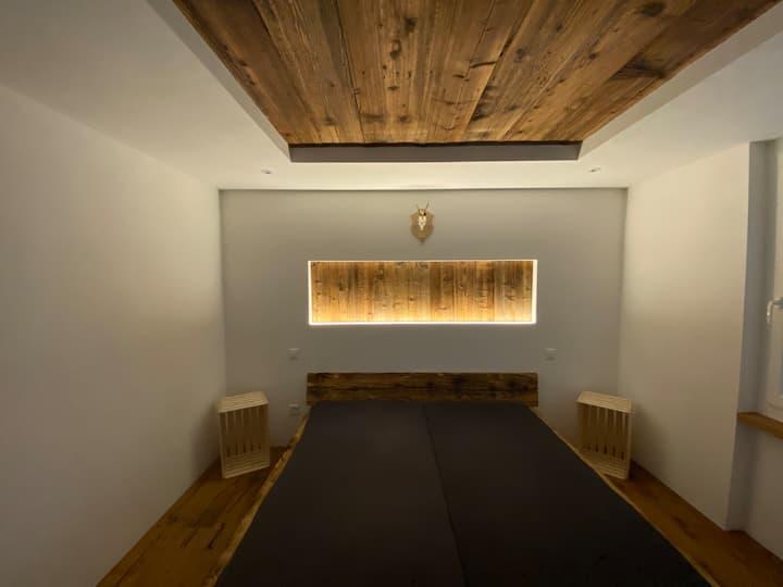Magische Wohnung in einem idyllischen Bergdorf
