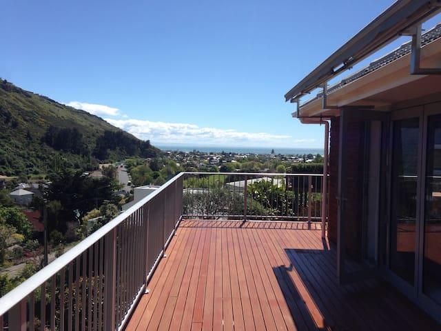 Modern house with amazing sea views - Christchurch - Rumah