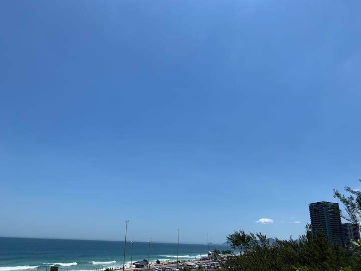 Vista para praia