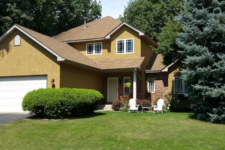 Executive Home in charming Lake Waconia community - House