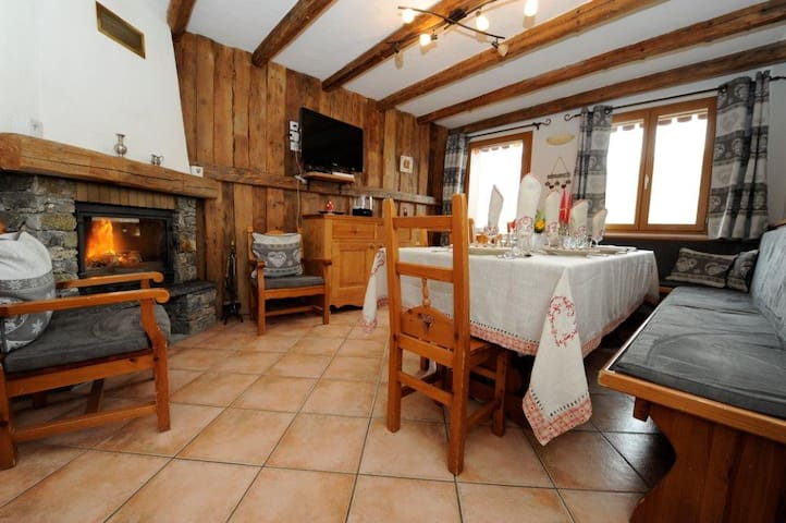 Chalet in the heart of St Martin de Belleville