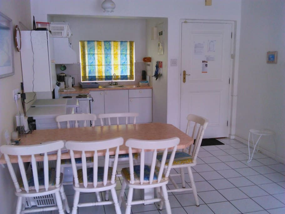 Sunny Cove Apartment. Two bedrooms. Sleeps four – one double and two singles (or one King size). Fully equipped for self catering.