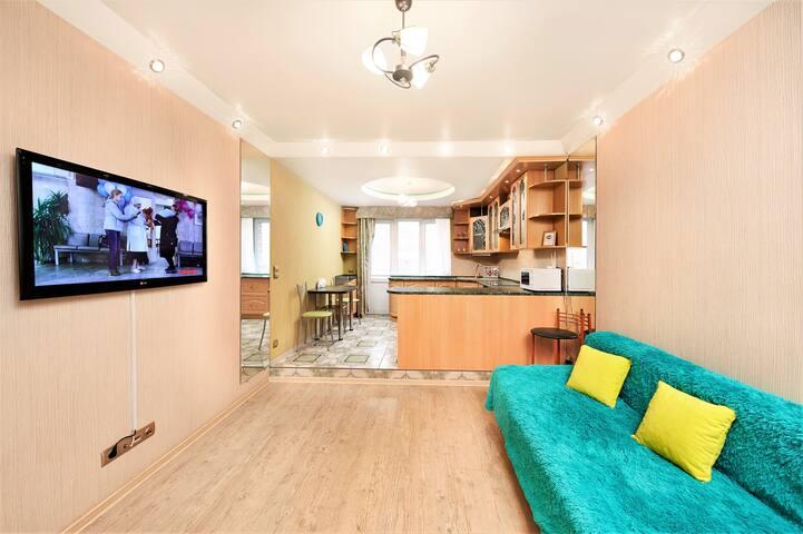 Дизайнерская , двухкомнатная квартира