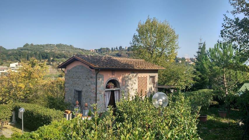 Historische Scheune in Toskana