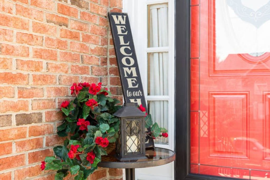 Welcome to your home-away-from-home. Our home, Mowatt Manor, is located in a suburban community made-up of families and retirees.  The peaceful single family housing development is tucked away in a cul-de-sac with plenty of free street parking within steps of our front door.