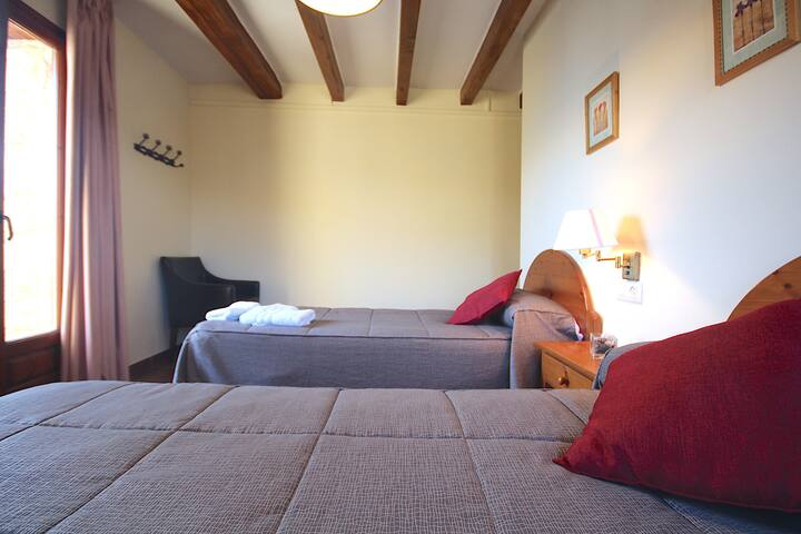 Centre del Montsec - 205 - Twin Room