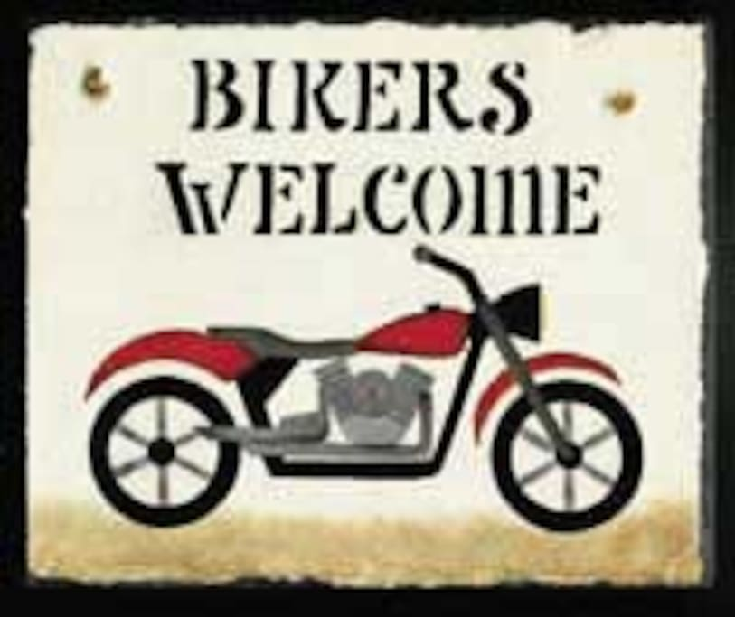 BIKERS WELCOME