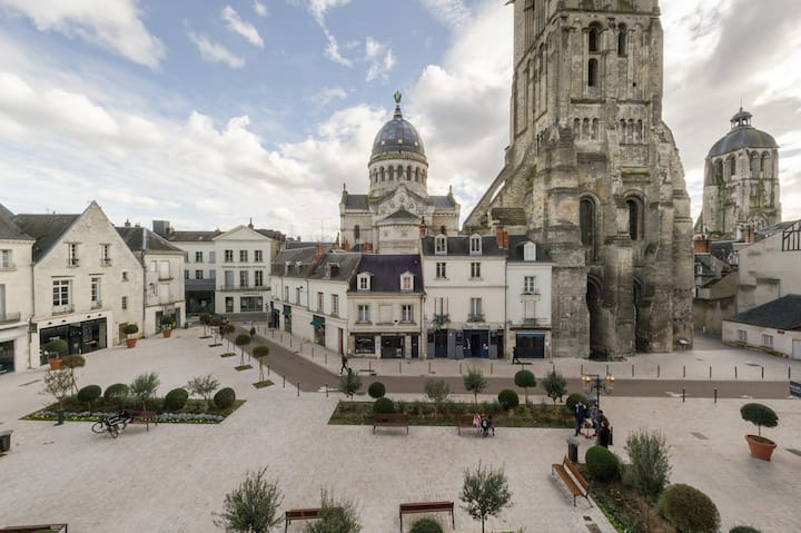 13 Chateauneuf - Hyper center - 2 bedrooms, 85 m2