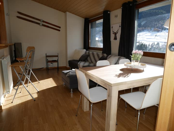 Apt.2br 4-7 people 300m from the slopes, HUT 5376