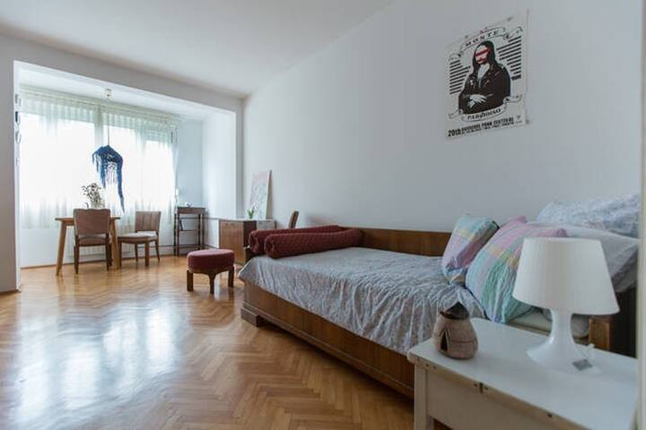 One person cozy room - Zagreb Central Bus Station - Zagreb - Flat