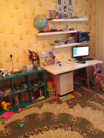 Семейная обустроенная квартира!